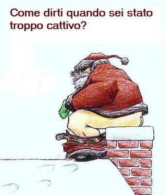 Babbo Natale cattivo